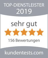 Top-Dienstleister 2019 - Kundenbewertungen